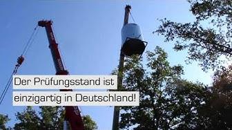 Spektakuläre Lieferung an der Uni Stuttgart!