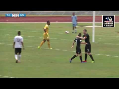 Fiji 0-2 Nueva Zelanda, Gol de Marco Rojas (NZ)