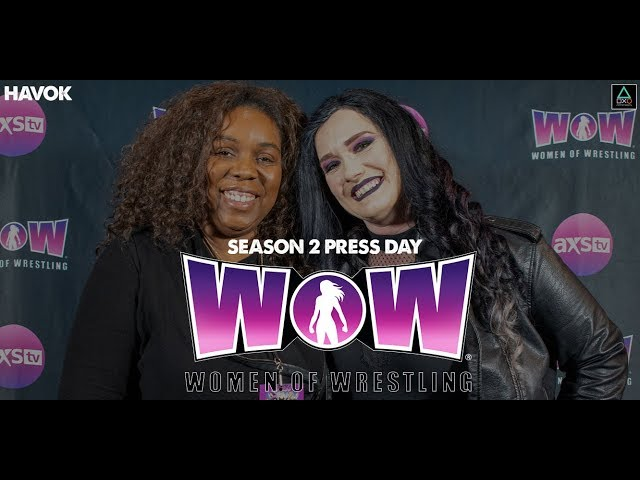 WOW: Women of Wrestling Press Conference - Havok