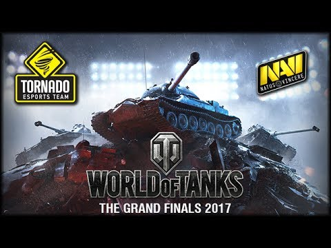 WoT - Grand Finals 2017 - Viertelfinale - NaVi vs Tornado Energy  [gameplay | deutsch]