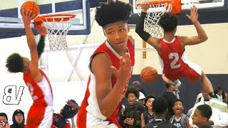 Mikey Williams Gets MORE DUNKS VS 14U Comp! City Ballers COOKING In The AM on MLK Day! (2 GAMES)