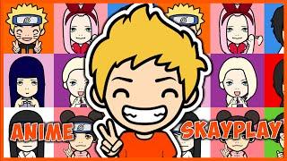 FaceQ | Как сделать аниме персонажа | Anime character
