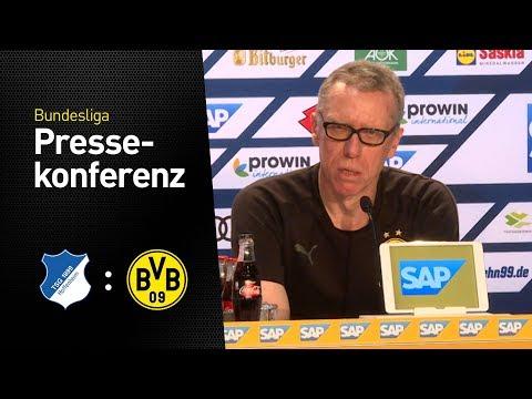 Peter Stöger verkündet seinen Abschied vom BVB | TSG Hoffenheim - Borussia Dortmund (3:1)