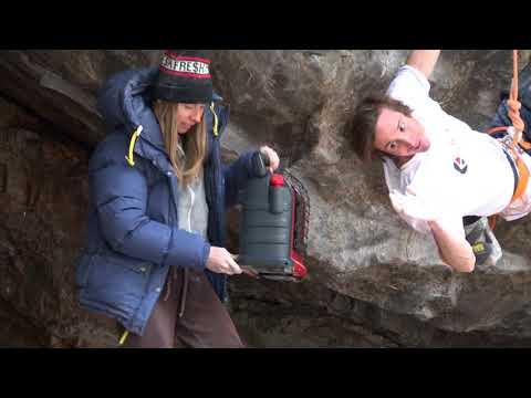 Nomadic Freaks first ascent by Daniel Woods,, Clear Creek bouldering/sportclimbing