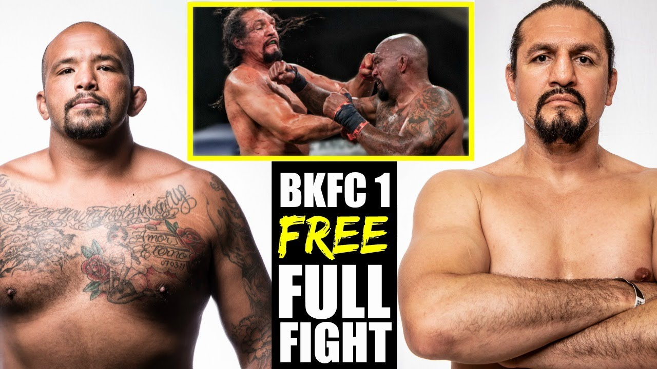 BKFC 1 FULL FIGHT: Tony Lopez vs Joey Beltran