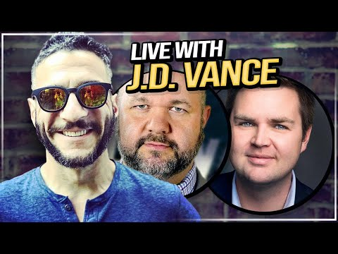 Sidebar with J. D. Vance - Viva & Barnes LIVE!