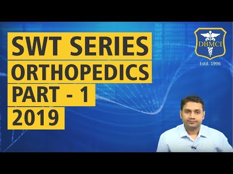SUBJECT WISE TEST SERIES - ORTHOPEDICS (2019)  - PART - 1