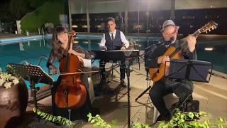 爵士風婚禮樂團/爵士樂團/陽明山中國麗緻飯店戶外婚禮