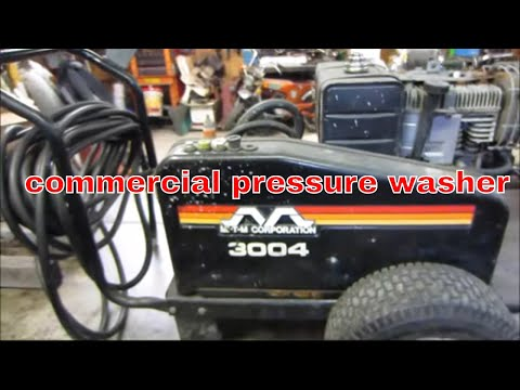Will It Run? Cheap Garage Sale Pressure Washer