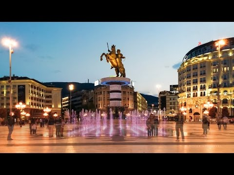 Macedonia Square - Timelapse and Hyperlapse Videos 2017