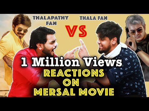 Thala Ajith Fans Reaction On Mersal Movie...