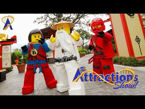 The Attractions Show! - Lego Ninjago Days; Marvel Universe Live; latest news