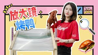 E22 Cooking Peking roasting duck with a magnifying glass.Yummy yummy! | Ms Yeah