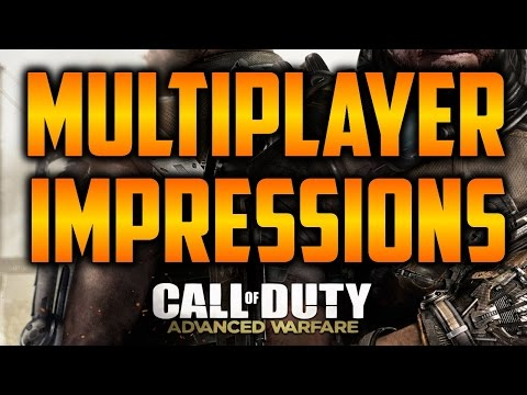 Advanced Warfare Multiplayer Trailer Impressions (Call of Duty: Ghosts Gameplay)