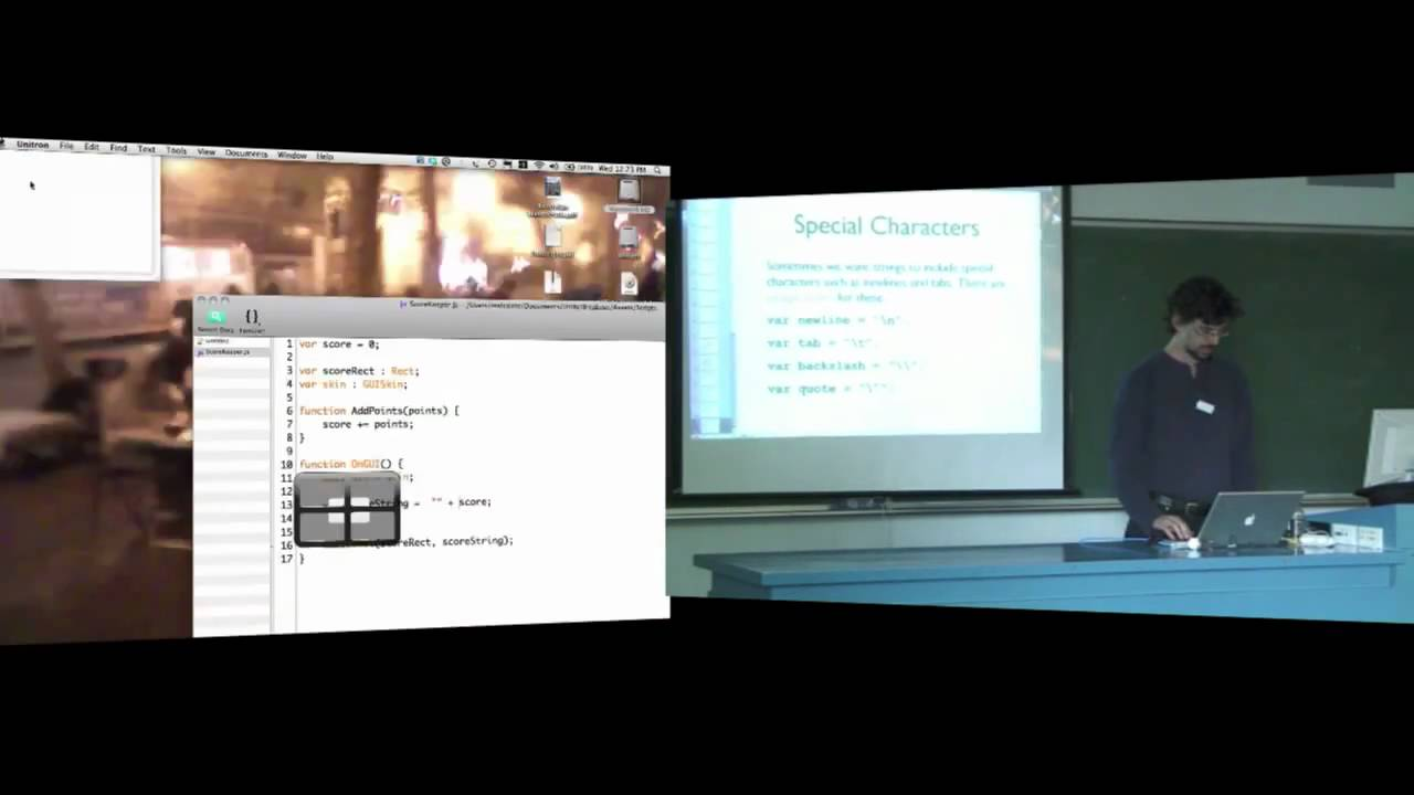 COMP1400 - Week 8, Lecture 2