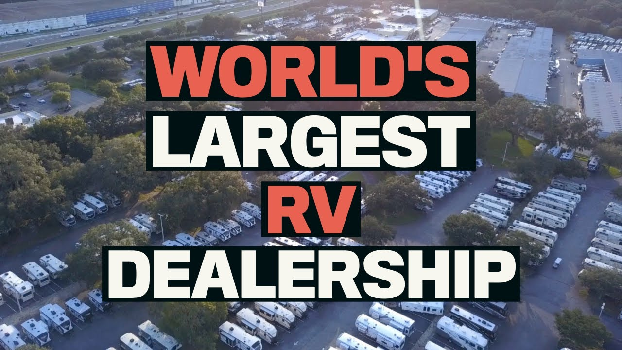 World's Largest RV Dealership! | Lazydays RV Supercenter Tampa | Changing  Lanes!