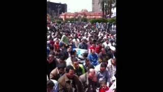 Tahrir April 8 prayer Thumbnail