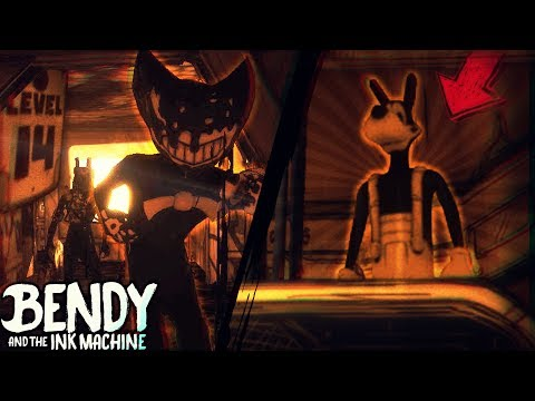 HACKING BENDY TO LEVEL 14 & BORIS STUCK ON LIFT!! | Bendy and the Ink Machine [Chapter 3] Speed Hack