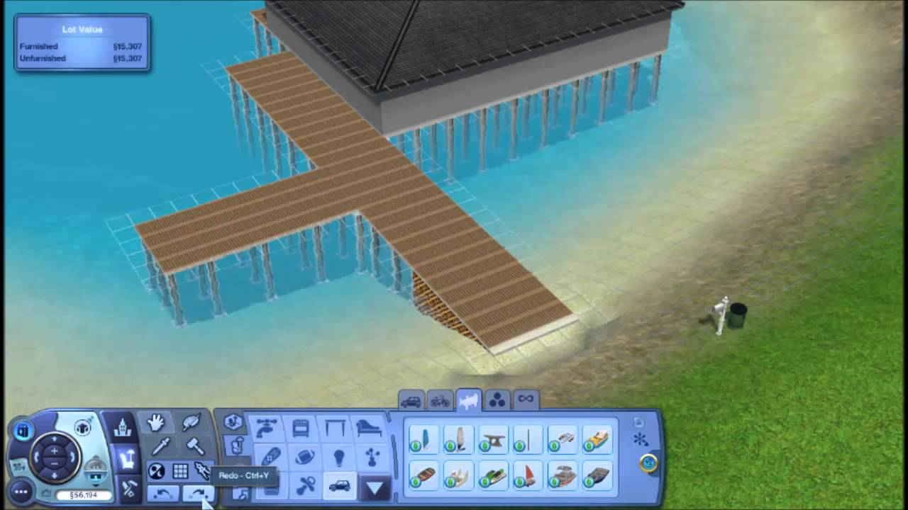 Howto Build Deck In Sims
