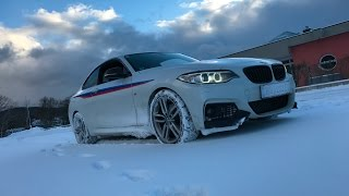 bmw f22 winter fun
