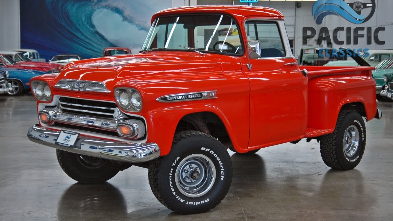 4X4 For Sale >> 1959 Chevrolet Apache 4x4 - YouTube