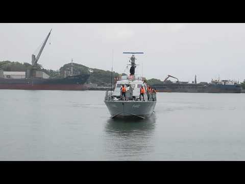 Thirty 30 illegal Sri Lankan immigrants held by Navy in southern seas