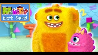 Monster Math Squad | 106 | Trouble at the Day Scare Centre | Learning Numbers Series
