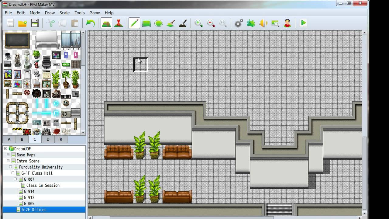 Let S Stream Rpg Maker Mv Day 1 6 3rd Floor Offices
