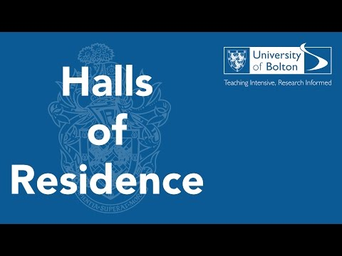 Halls of Residence at the University of Bolton