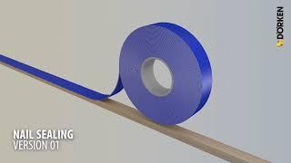 Nageldichtung Dach DELTA® SB 60 Variante 1 - Verlegevideos