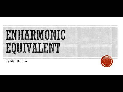 Enharmonic Equivalent - Lesson - YouTube