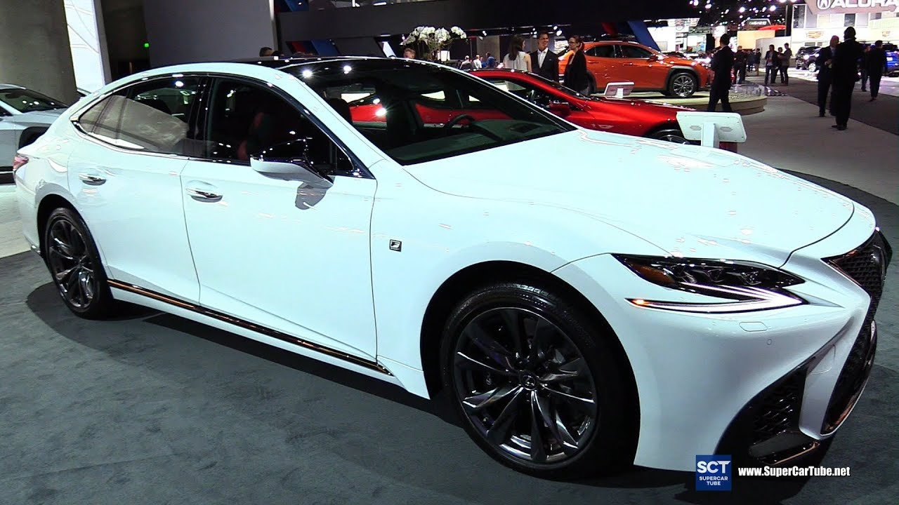 2019 Lexus Ls 500 F Sport Exterior And Interior Walkaround 2018 La Auto Show
