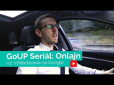 Onlajn #03: Vyhľadávanie Google
