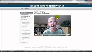 Social Traffic Plugin Review Video - LinkedIn Traffic Plugin - Twitter Traffic Plugin