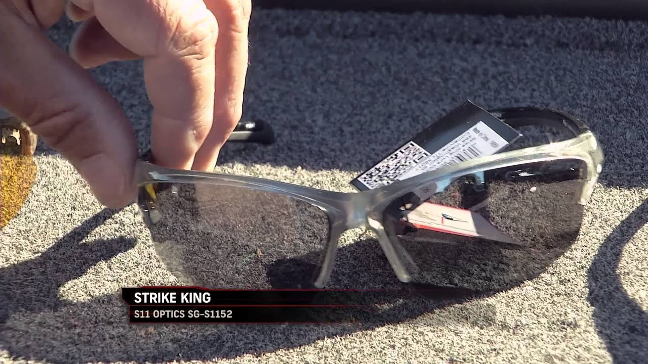 c51f5722a8d Fishing Tip - Good Sunglasses like Strike King S11 s Will Help You Catch  Fish S11E08