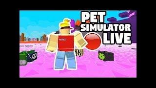 🔴Guten Mittag Stream!! | PET SIMULATOR GIVEAWAY | Roblox Pet Simulator [GER]