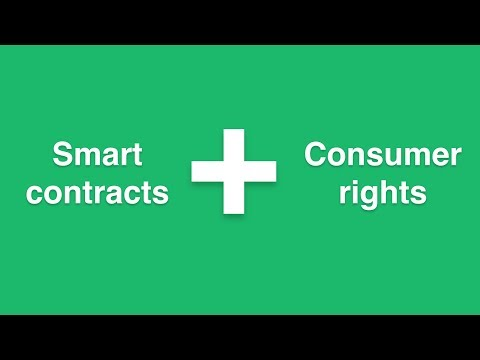 Smart contracts and consumer rights enforcement