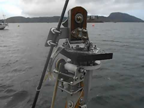 Hebridean wind vane DIY remote control mechanism