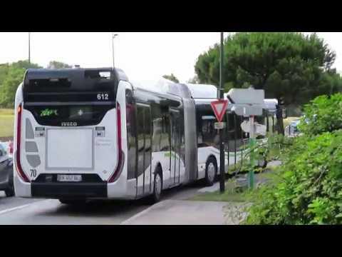 IVECO UrbanWay 18 CNG Voith #612   Ligne C6   Réseau TAN de Nantes