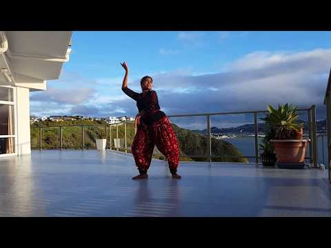 "Dance for ""Bharata Vedamuga - Pournami"" - version by Tejaswini Sudam"