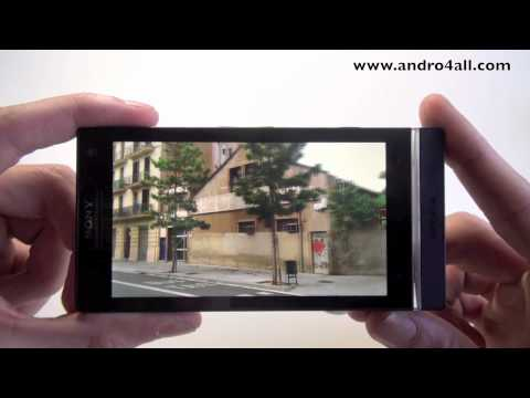 Videoreview Sony Xperia S [HD][ESPAÑOL]