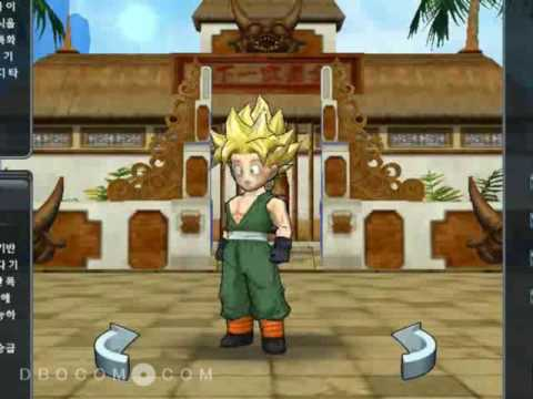 Dragonball Online - Super Saiyan Hairstyles