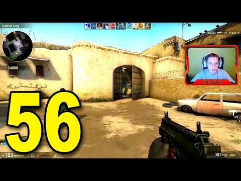 CS:GO - Part 56 - Dust II INSANE ENDING! (Full Game)