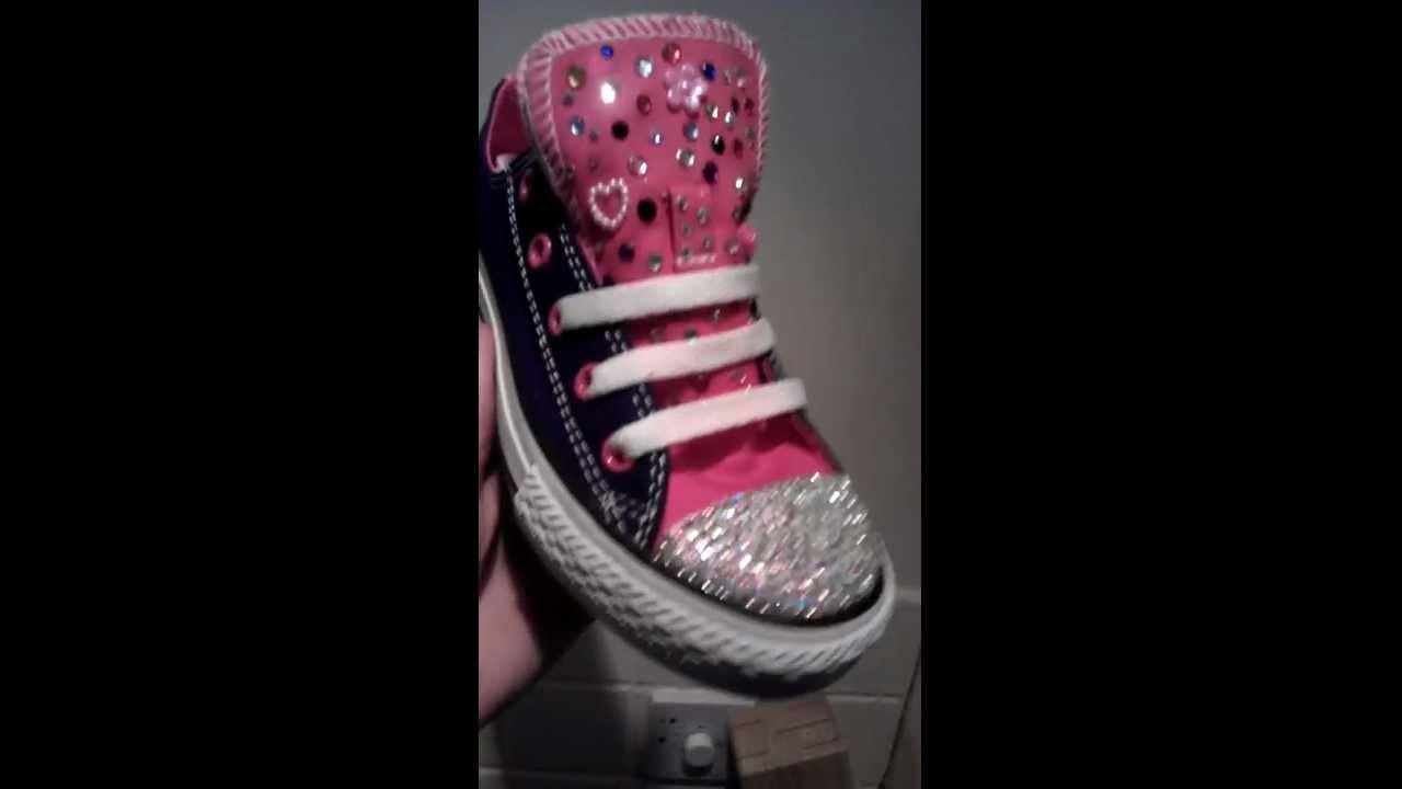 7bcfe5be7783 zapatos converse niñas decorados