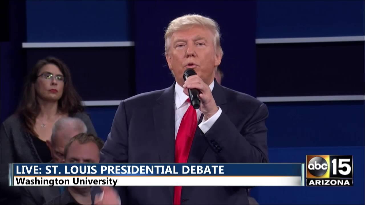 Presidential Debate - DT: Ambassador Stevens & Benghazi - Hillary Clinton Donald Trump