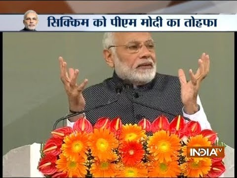 Govt making efforts to conserve environment in Sikkim, says PM Modi