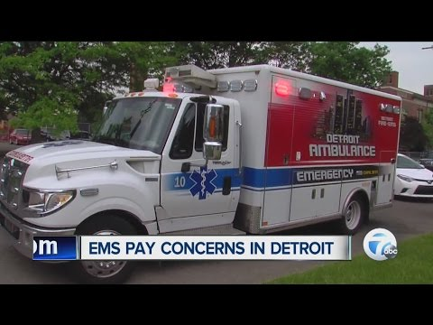 Detroit medics shorted due to payroll system issues