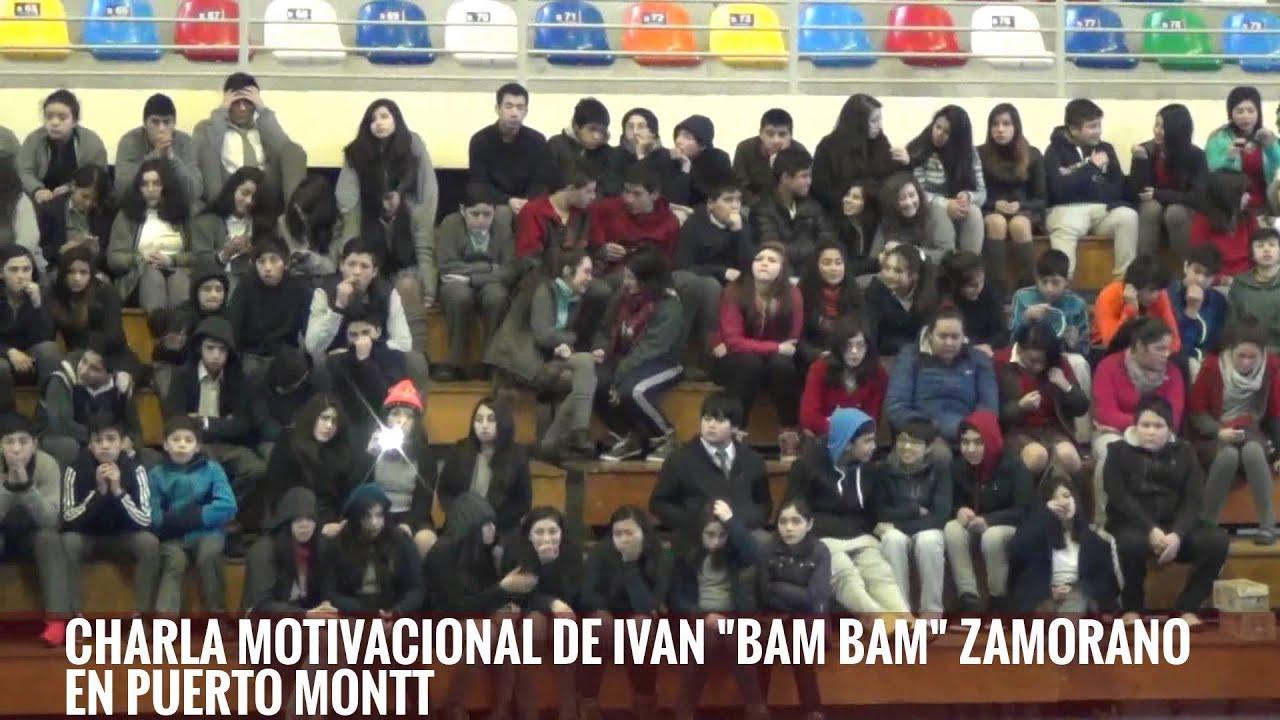 Charla Motivacional De Ivan Bam Bam Zamorano En Puerto Montt