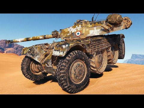 Panhard EBR 105 - Faster Than LIGHT - World of Tanks Gameplay