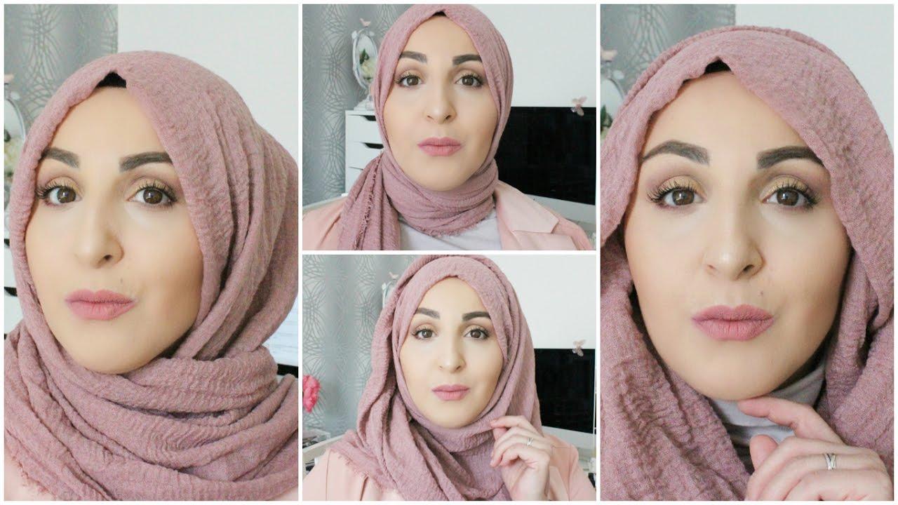 372d39377b57 4 Façons de Porter le Hijab en 2 Minutes ! - YouTube